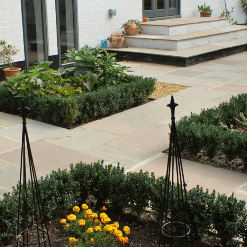 parterre terrace paving